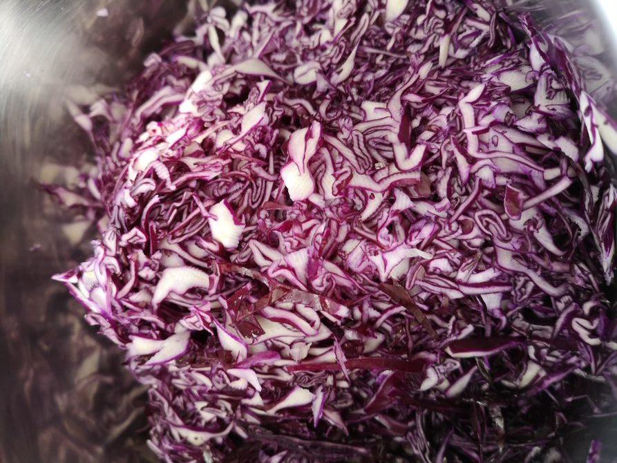 Selbstgemachtes Sauerkraut
