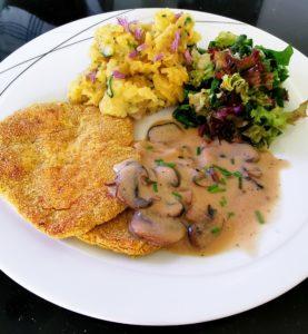 Read more about the article Veganes Schnitzel aus Kichererbsen